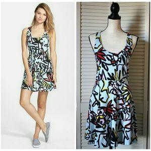Vans Love Triangle Graffiti Mini Dress